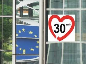 EU-Parlament mit Herz